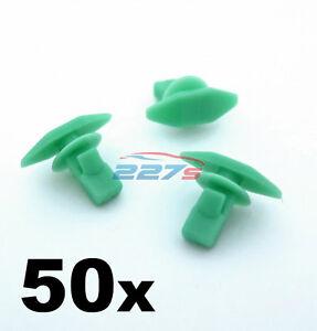 50x Plastic Weatherstrip, Boot & Door Seal Clips for Honda- 91568-SR2-003