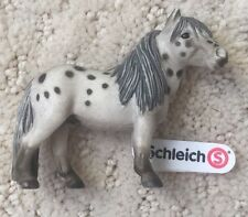 New W Tag Schleich Miniature Shetland Pony Horse Mare Model 2003 Retired