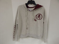 Washington Redskins Touch by Alyssa Milano Championship Gray Sample Hoodie-M