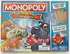 Monopoly Junior Electronic Banking Finance Theme Kids Party Board Game