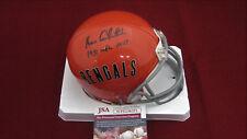 Ken Anderson Signed Cincinnati Bengals T/B Mini Helmet W/1981 NFL MVP -  JSA WPP