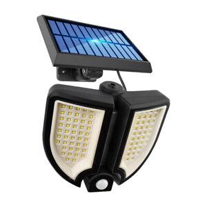 LED Waterproof Solar Power PIR Motion Sensor Wall Light Outdoor Garden Lamp