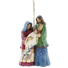 Heartwood Creek Jim Shore 4058837 Holy Family Hanging Ornament