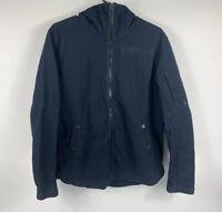 G-Star Raw Men's Hooded Jacket Full Zip 'BATT HDD OVERSHIRT L/S' Size XL