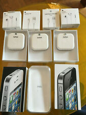 Lot de boîtes vides Apple iPhone 4 / 4S / 5S / 5 boites d'EARPODS et Lignthing