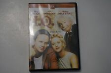 I.Q. Think Love (Widescreen DVD) Meg Ryan, Tim Robbins & Walter Matthau Rated PG