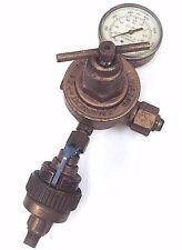 VICTOR 370247 COMPRESSED GAS REGULATOR 200PSI W/ AIRCO 801 0786 & GAUGE, S350D