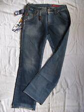 Miss Sixty Blue Jeans Denim W28/L34 extra low waist regular fit bootcut leg