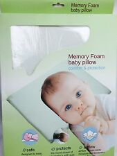 MEMORY FOAM BABY INFANT CHILD PILLOW SLEEPING HEAD SUPPORT ANTI FLAT HEAD