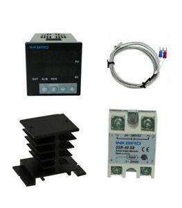 Inkbird ITC-106VH 110-240V PID Temp Control Thermostat K Heat sink 40DA SSR C/F
