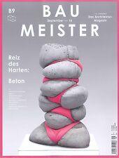 Baumeister, B9, September 2016: Reiz des Garten: Beton +++ wie neu +++