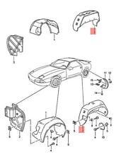 Genuine PORSCHE 928 Wheel Housing Liner Right Rear 92850430404