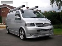 VW T5 03-09 OEM Sportline sport line Front Bumper spoiler lip Valance addon Bus