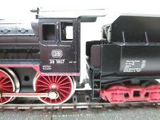 Märklin H0 3098 Dampflok 38 1807 DB - 1/87 HO AC ~ OVP - P8 Wannentender