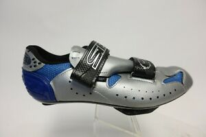 SIDI Made in Italy Silver Sz 8 (43 EU) Men Cycling Shoes