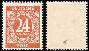 925 d (24 Pfg. Ziffern), bessere Farbe, geprüft Arge, postfrisch