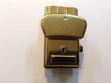 """Vintage Authentic Austrian Large 3""""x1-5/8"""" Gold Clasp Lock Amiet Adj $5.75 Each"""