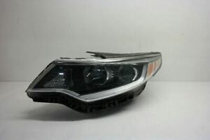 16-18 KIA OPTIMA DRIVER LEFT HEADLIGHT HALOGEN WITH LED ACCENTS OEM