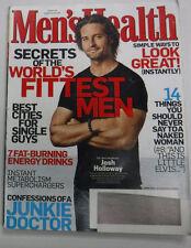 Men's Health Magazine Josh Holloway & Junkie Doctor June 2010 VN 081715R