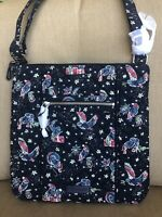 New Vera Bradley Iconic Hipster Crossbody Bag cotton in Holiday Owls $68