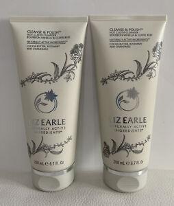 2 X Liz Earle Cleanse & Polish Hot Cloth Cleanser Bourbon Vanilla & Clove Bud