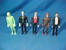 5-1980 UNIVERSAL MONSTER Collection by REMCO-Dracula-Frankenstein-Creature etc
