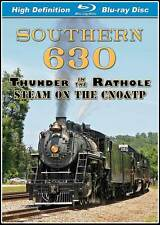 Southern Railway 630 Thunder in the Rathole Steam on the CNO&TP BLU-RAY NEW