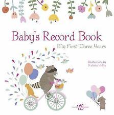 Baby's Record Album (Girl) (2017, Hardcover)