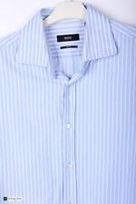Camisas y polos de hombre azul HUGO BOSS 100% algodón
