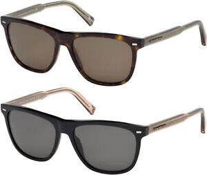 Ermenegildo Zegna Polarized Men's Classic Sunglasses w/ Zeiss Lens - EZ0041