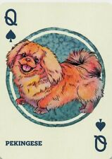Pekingese Dogs & Puppies Single Swap Playing Card