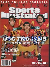 Sanchez Cushing Maualuga USC SIGNED Regional Sports Illustrated 8/11/08 NL COA!