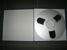 """1 Used BASF LGR 50 1200m 1/4 """" tape with RMG New case & RMG New metal Reel 10.5"""""""