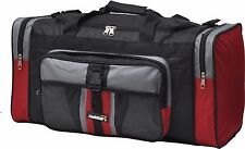 foolsGold 4239RD 50L Large Holdall Duffle Bag - Red