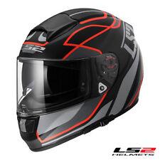 Hi-Vis/Reflective Matt LS2 Brand Motorcycle Helmets