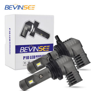 Bevinsee 9012 LED Headlight Bulb For Scion tC iM 2014 2015 2016 High Low Beam