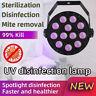 Portable UV Germicidal Lamp Home Room Disinfection UV Sterilizer Light Tube LED