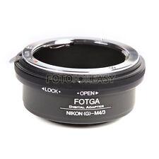 FOTGA Adapter for Nikon G AI AF-S lens to Micro 4/3 M4/3 E-PLM2 E-P5 GF6 G7 GH4