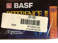 BASF Reference II Master 90 min IEC High BIAS Professional Audio Cassette Tape