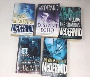 5 x Val McDermid Crime Fiction Thrillers Job Lot PB Bundle