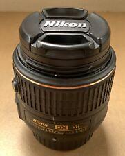 Nikon AF-S Nikkor 18-55mm 1:3.5-5.6 GII DX VR Lens + HOYA Filter