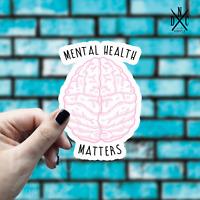 Mental Health Matters Sticker Vinyl Decal - Car Laptop Macbook Window Stickers