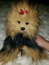 Yorkie Plush Ty Dog Beanie 10 Inch