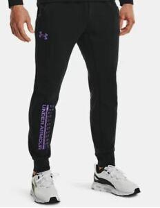 Men's Under Armour Summit Knit Joggers / Track Pants - Black Various Sizes