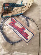 NOS Clarks Power Gide Front Cable Blue Vintage Old School BMX 1980s BMX