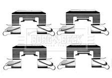 Borg & Beck Bremsscheiben Bremsbeläge Zubehörset Passform BBK1212 - 5 Jahr