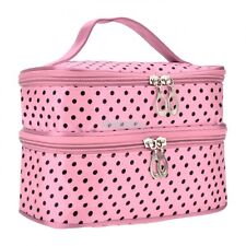 Women Multifunction Travel Cosmetic Bag Makeup Case Pouch Toiletry Organizer US