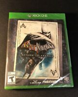 Batman Return to Arkham [ Arkham Asylum + Arkham City ] (XBOX ONE) NEW