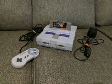 TESTED! Super Nintendo Entertainment System Console Bundle w/ Game and cord SNES