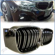For 2014 On BMW F34 3GTxD 328i 335i Hatchback M Type Gloss Black Front Grille